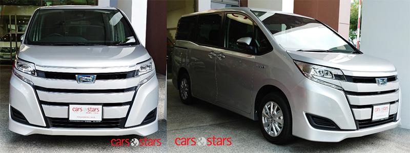 Toyota Noah Hybrid 2018 The Affordable Family Transporter