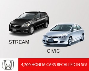 4,200 Honda Car Affected in Singapore