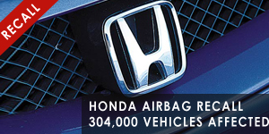 Honda-Airbag-Recall-304000-Vehicles-Affected