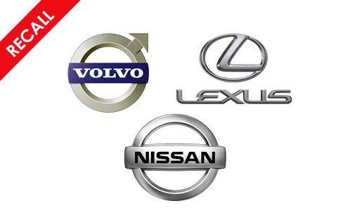 Recall Round Up Front End Flaws For Nissan, Volvo and Lexus