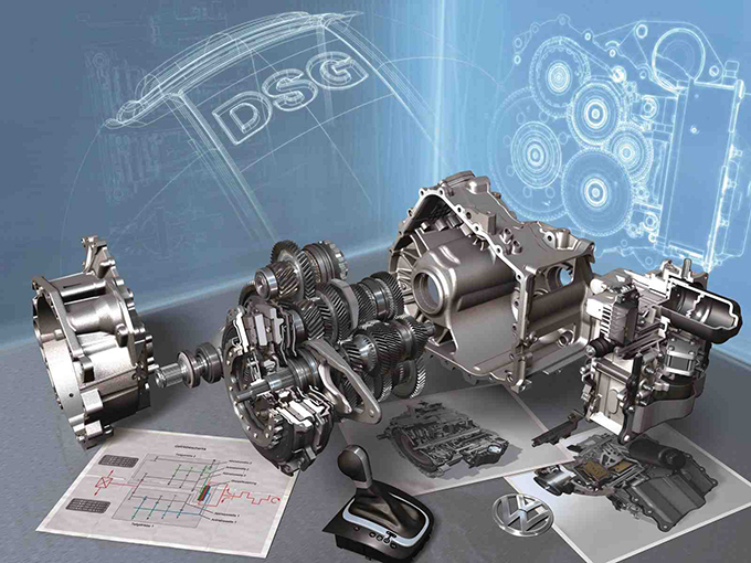 The 7-speed dual clutch gearbox (250 Nm) by Volkswagen