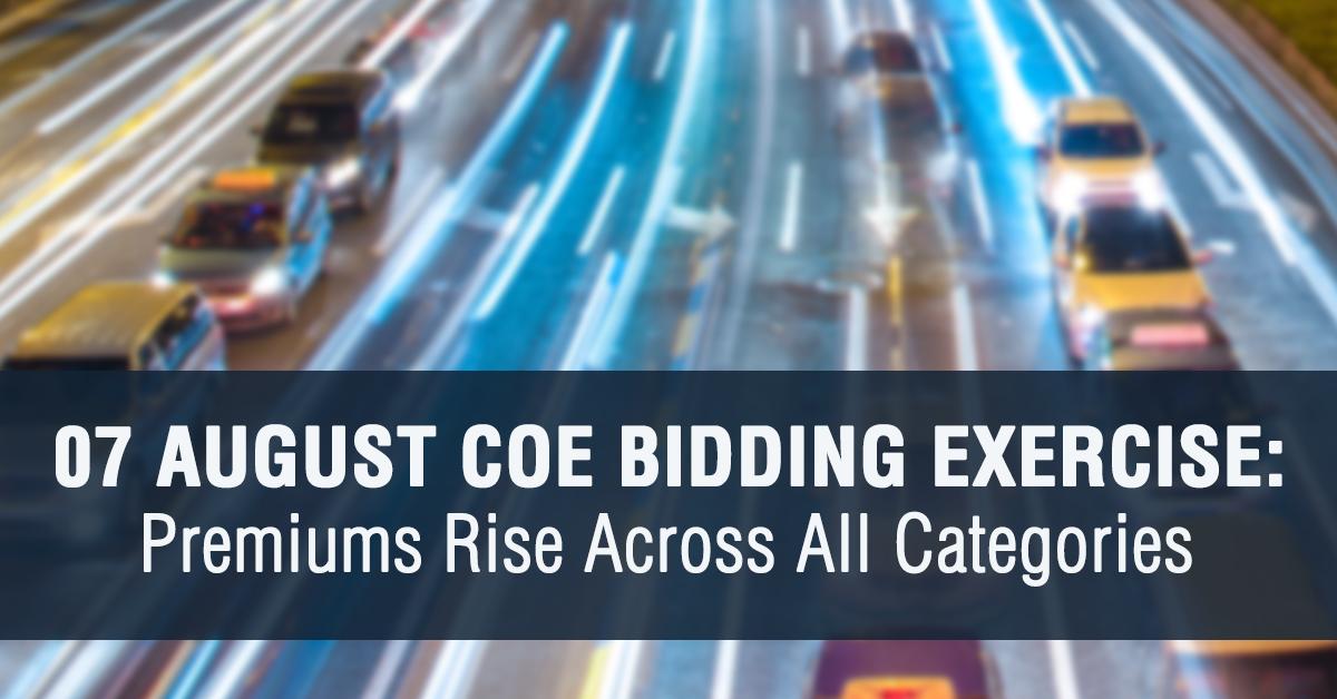 07 August 2019 COE Premium