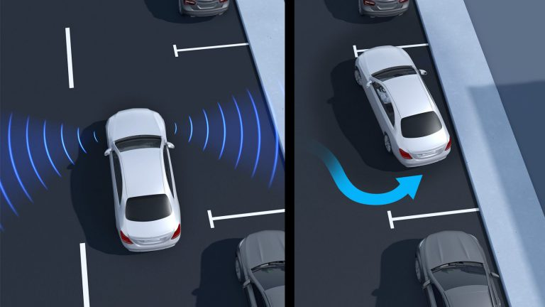 Active Parking Assist With Parktronic