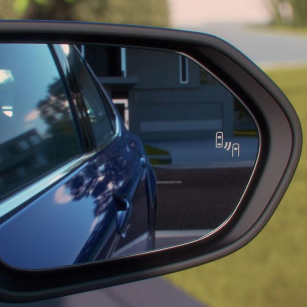 Blind Spot Monitor and Rear Cross Traffic Alert