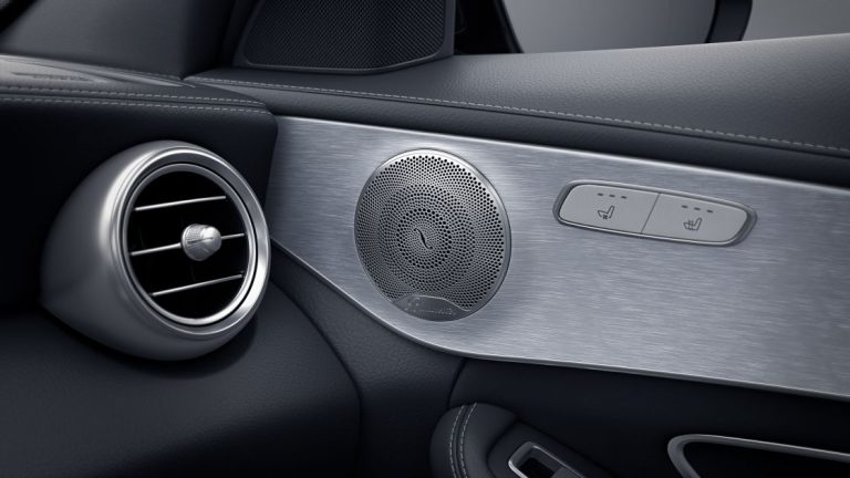 Optional Burmester® Surround Sound System