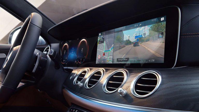 MBUX Augmented Reality Navigation
